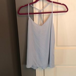 Abercrombie & Fitch pale blue tank top